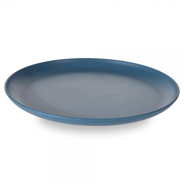 Melamin Teller blau