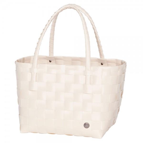 HANDED BY Shopper Einkaufstasche Paris ecru white