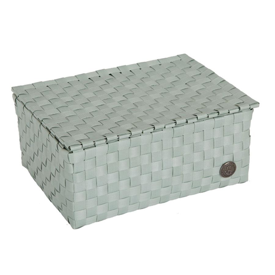 handed by aufbewahrungskorb udine grau gr n greyish green luwago online shop. Black Bedroom Furniture Sets. Home Design Ideas