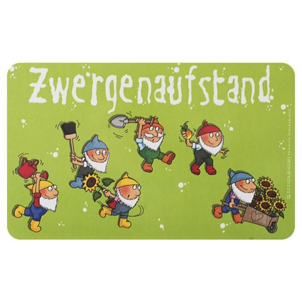 """DESIGN@HOME Frühstücksbrettchen """"Zwergenaufstand"""""""