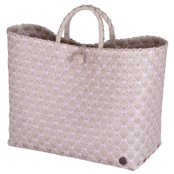 Handed By Shopper Einkaufstasche Lima pale grey-nude