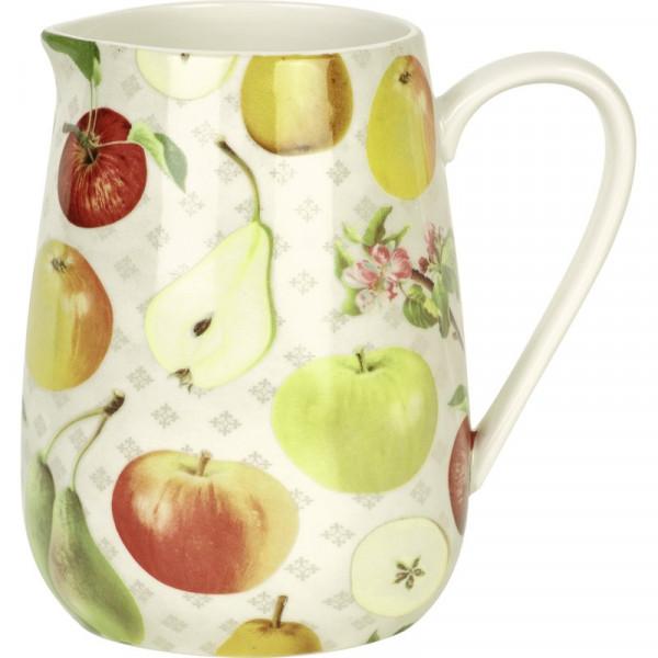 IHR Porzellan Krug Kanne Apple and Pear cream