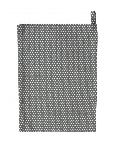 Krasilnikoff Geschirrtuch Micro Dots Charcoal