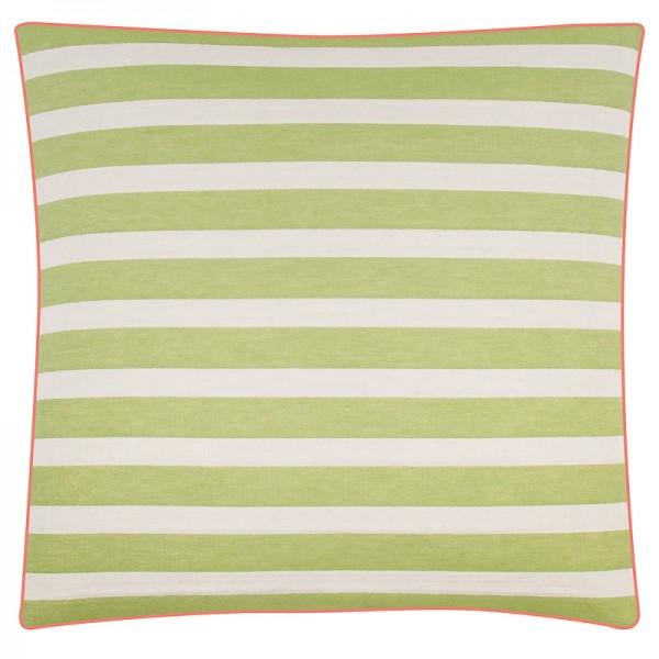 PAD Kissenhülle Mila stripes grün pink