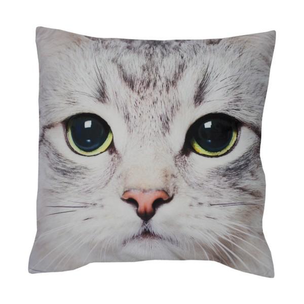 Dekokissen Kissenhülle Katze 40 x 40