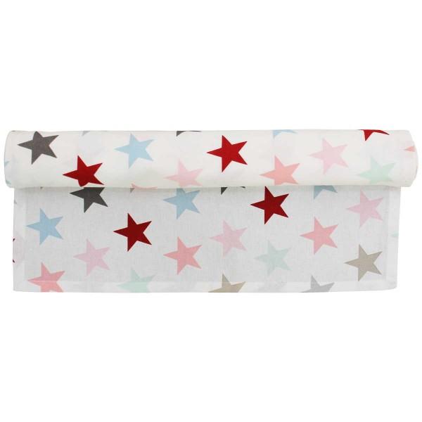 Krasilnikoff Tischläufer Sterne multicolor