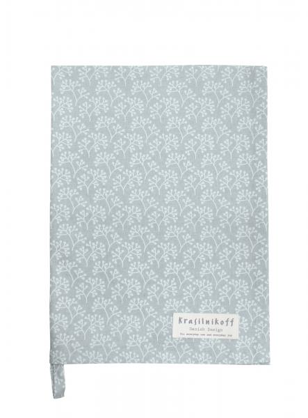 Berries White on Grey Geschirrtuch Krasilnikoff Küche Accessoires