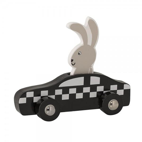 Bloomingville Holz Spielzeug Auto Racing Rabbit