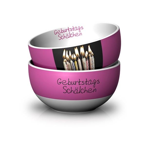Geschenk für Dich :-) Schälchen Geburtstag