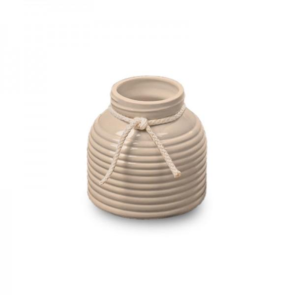 BOLTZE Vase Ellen beige