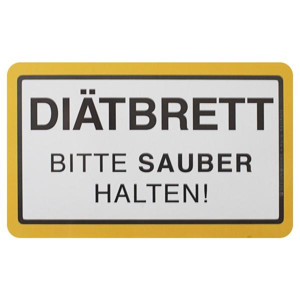 """DESIGN@HOME Frühstücksbrettchen """"Diät"""""""