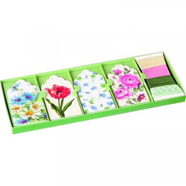 Geschenkanhänger Set IHR Flowers Ideal Home Range
