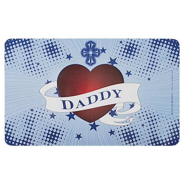 """DESIGN@HOME Frühstücksbrettchen """"Daddy"""""""