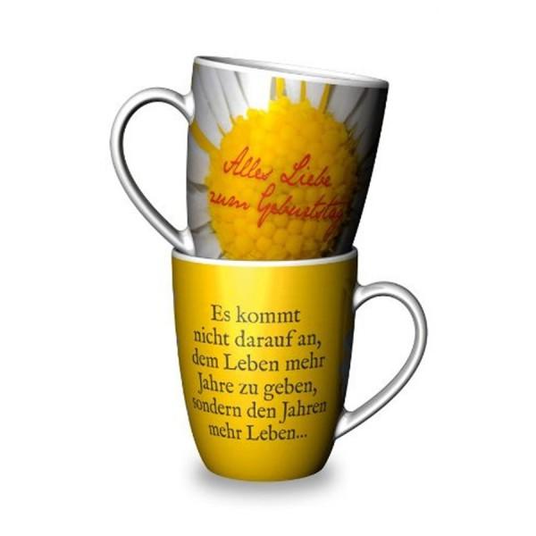 Geschenk für Dich :-) Becher Alles Liebe zum Geburtstag