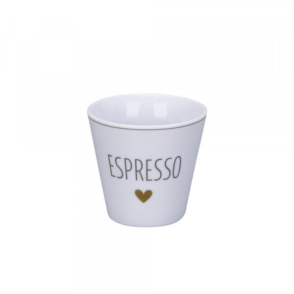 Krasilnikoff Espresso Becher Cup Tasse Mug Herz