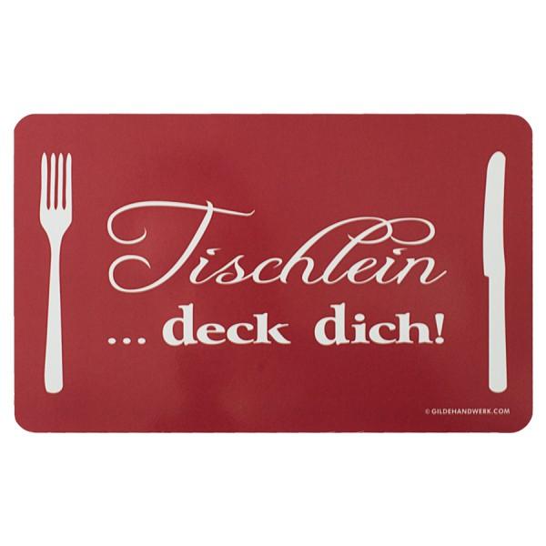 """DESIGN@HOME Frühstücksbrettchen """"Tischlein... deck dich"""""""