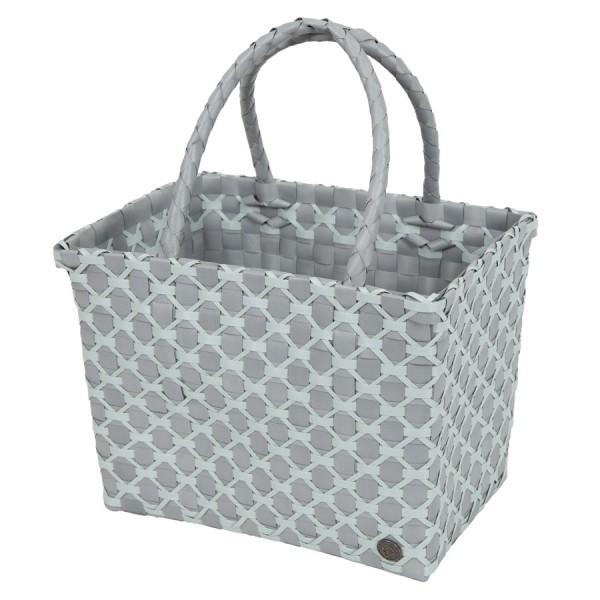 HANDED BY Shopper Einkaufstasche Havanna flint grey with greyish green pattern