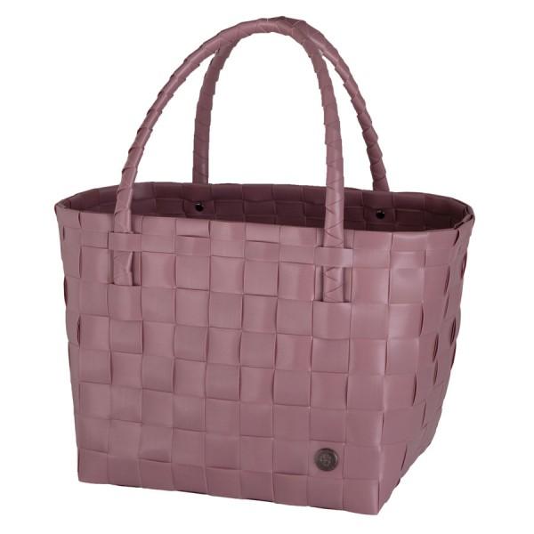 Handed By Shopper Einkaufstasche Paris rustic pink