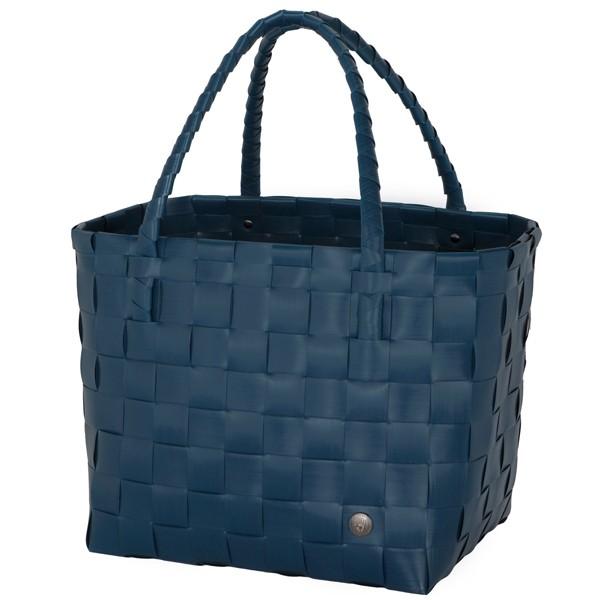 Handed By Einkaufstasche Paris ocean blue